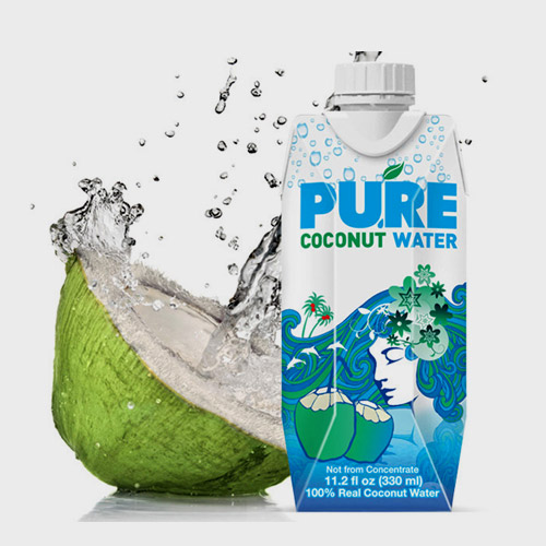 PURE COCONET WATER(2BOX)(단독주문시 당일발송)리미샵